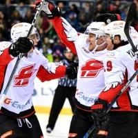 Омский «Авангард» выиграл у латвийского «Динамо» в домашнем матче со счетом 9:3