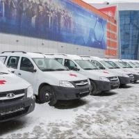 Участковым врачам Омской области выдали 60 автомобилей