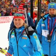 Омская биатлонистка выступит на Олимпиаде в Сочи