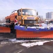 Омские дороги убирают машины возрастом в полвека