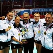 """Волейбольная """"Омичка"""" выиграла первый трофей сезона"""