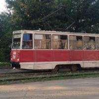 Грабитель в медицинской маске скрылся с места преступления на трамвае