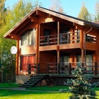 Основные плюсы дома из клеёного бруса