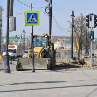 Омские автолюбители вновь могу ездить по улице Ленина