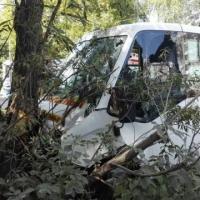 В результате ДТП в Омске пострадали 8 пассажиров маршрутки