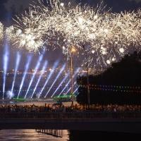 Завершивший День города Омск салют привел горожан в восторг