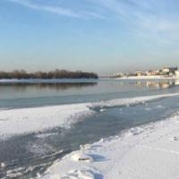 Спасатели предупредили омичей знаками в районе «аномальной» полыньи на Иртыше