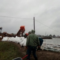 В Омской области паводком от райцентра отрезано 8 населенных пунктов