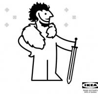 В IKEA рассказали, как сделать мантию из «Игры престолов»