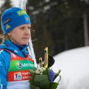 Омская спортсменка завершила биатлонный сезон в призах