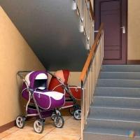 Омичи перевозили металлолом в украденной детской коляске для двойни