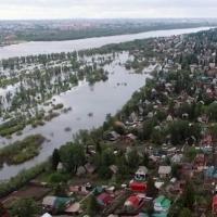 Количество затопленных дач в Омске приближается к сотне