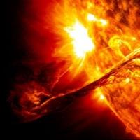 На Солнце произошла мощнейшая за 12 лет вспышка
