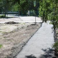 Омские школьники 1 сентября пойдут по обновленным тротуарам