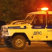 Полицейский УАЗ попал в ДТП прямо у входа в здание городской администрации