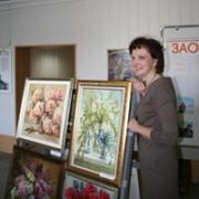 В Омске открылась выставка нарисованных букетов