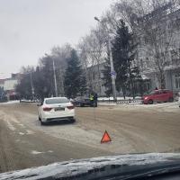 Автомобиль мэра Омска с Фадиной внутри попал в аварию