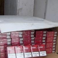 В Омскую область хотели провести 50 тысяч немаркированных пачек сигарет