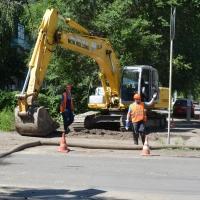 Специалисты омского водоканала в сжатые сроки отремонтировали канализацию в Ленинском округе