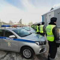 Омские сотрудники ДПС теперь будут работать на 29-ти новых автомобилях