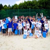 Волонтеры «Газпромнефть-Региональных продаж» познакомили детей с летними видами спорта