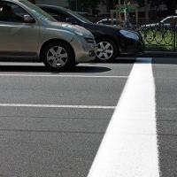 В Омске обновят пластиковые стоп-линии для лучшего распознавания камерами фотофиксаций
