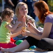 Первый городской пикник посетили 5 тысяч омичей