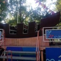 На аттракционе в омском парке пришлось применить экстренное торможение