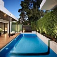 7 вариантов создания красивого интерьера дачного бассейна