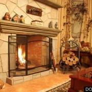 Уют и тепло в гостиной