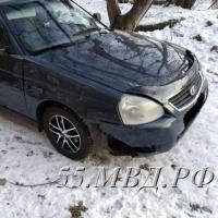 Омская полиция нашла водителя, сбившего пешехода на Маркса