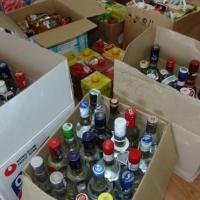 Омская полиция изъяла незаконной алкогольной продукции на 1 миллион 700 тысяч рублей