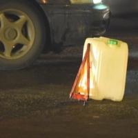 В центре Омска девушку зажало между автомобилями в результате ДТП
