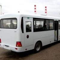В Омске водителя задавил собственный автобус