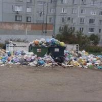 Неприятная альтернатива: в Омске благоустроенный двор превратился в мусорную свалку