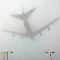 Утренний туман в Омске нарушил планы пассажиров самолетов