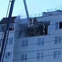 После взрыва газа в жилом доме в Омске введен режим ЧС