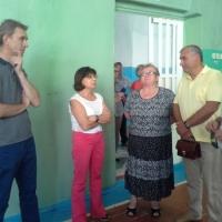 Ирина Роднина предложила отремонтировать спортзал в омском селе и устроить там фитнес