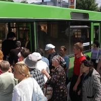 Садовые автобусы в Омске завершают сезон