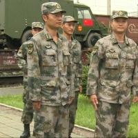 В Омск прибыло 16 единиц военной техники из Китая