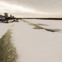 Выходить на лед в черте Омска стало опасно