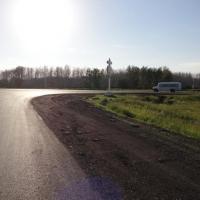На девяти дорогах в Омской области заменили асфальт