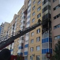 В Омске случилось два больших пожара с эвакуацией