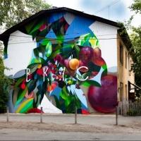 Уличные художники раскрасят серые стены Омска