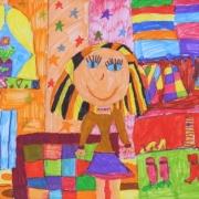 Юная омичка победила на международном фестивале с портретом мамы