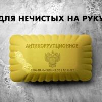 Омичка придумала мыло для «нечистых на руку» коррупционеров