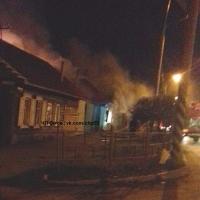 В Омске на 19-й Северной сгорел частный дом вместе с хозяйкой