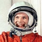 Юрий Гагарин приземлился на зернышко