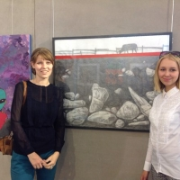 В Омске ученики соревнуются против маститых художников