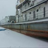 В Омске с корабля, стоявшего в затоне, воры унесли даже бинокль